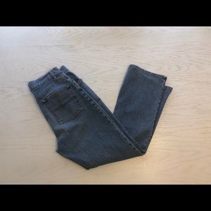 LL Bean classic fit straight jeans